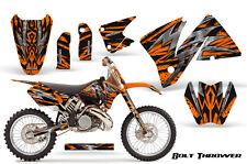 KTM 2001-2002 EXC 200/250/300/350/400/520 and MXC 200/300 GRAPHICS KIT BTONP