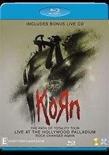 Korn: Live at the Hollywood Palladium + Bonus Live CD NEW B Region Blu Ray