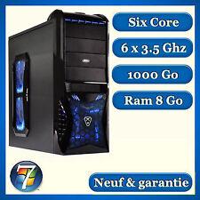 PC Gamer SIX CORE - 8 GO - HDD 1000 Go  - Windows 7