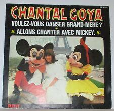 """Disque vinyle 45T CHANTAL GOYA """"Voulez-vous dansser Grand-Mère ?"""" 1977. DV139"""