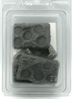 Baueda 15A38CB Four Different 5 Holes Infantry Scenic Bases (Urban) [15mm] WWII