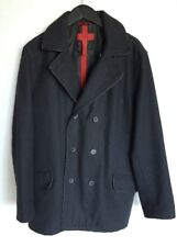 ALFANI FITTED WOMEN'S DOUBLE BREASTED WOOL BLEND COAT JACKET CHARCOAL MEDIUM M