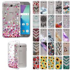 For Samsung Galaxy J7V J727/ J7 Sky Pro/ Perx Slim TPU Clear Silicone Case Cover