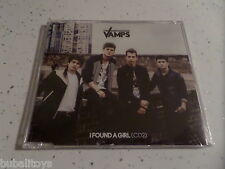 The Vamps - I Found A Girl (CD2) 2 Track CD Single RARE! Virgin Kung Fu Fighting