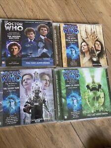 Dr Who Audio Cds Big Finish No:169 153,154,155 Bundle Part Sealed