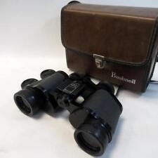 Vintage Binoculares Bushnell Sport vista gran angular 7x35 completamente recubiertos con Estuche