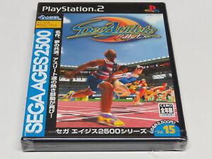 Sega Ages 2500 Vol. 15 Decathlete PS2 PlayStation 2 Japan * Brand NEW Sealed IMP