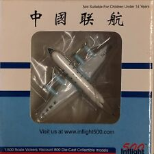 Inflight 500 - 1/500 China Airlines Vickers Viscount 800 REg#50258 (RARE)