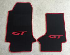 Autoteppich Fußmatten für Opel GT Cabrio schwarz rot ab 2007' Neuware 2teilig