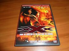 Xxx (Dvd, 2002, Widescreen Special Edition) Samuel L. Jackson, Vin Diesel Used