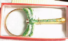 New Green Dragonfly Cloisonne Magnifying Glass