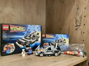 "RARE Lego Cuusoo DeLorean 21103 Back to the Future w/ ""Sheild"" Error 100% w/ BOX"