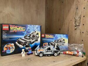 """RARE Lego Cuusoo DeLorean 21103 Back to the Future w/ """"Sheild"""" Error 100% w/ BOX"""