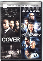 Cover/Even Money (DVD, 2014, 2-Disc Set) GREAT Double Feature NEW SEALED