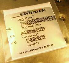 Semrock Brightline Optical Bandpass Filter Ff01 50412 10 D 498 510nm Laser