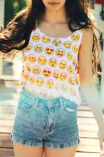 Boldgal Cami Yellow T-shirt Blouse Tank Short Bralette Crop Top