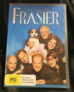 Frasier : Season 6 : (2011 : 4 Disc DVD Set) Very Good Condition Region 4