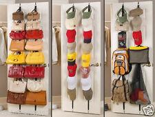 Bag Rack Hat Adjustable Organizer Holds 16 Handbags8