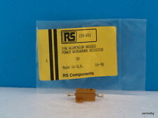 1PCS 10W 5Ω ALUMINIUM HOUSED POWER RESISTOR ARCOL  RS159-89 RS-COMPONENTS UK NOS