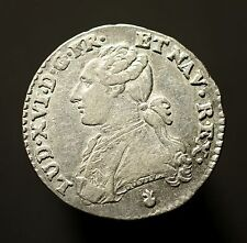 Kgr. Frankreich, Ludwig XVI.,1/10 Ecu 1784 AA, Metz