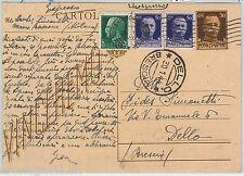 64201 - ITALIA REGNO - STORIA POSTALE: INTERO POSTALE Espresso Manuscritto 1944