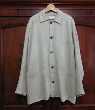 zegna ermenegildo linen jacket mens xl 54 made in italy