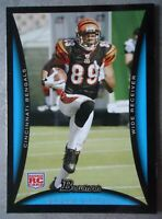 NFL 209 Jerome Simpson Cincinnati Bengals Bowman Rookie Card 2008