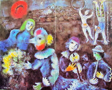 CHAGALL - CARNAVAL NOCTURNE - OFFSET LITHOGRAPH - 1977 -SPECIAL $ 30  !!!