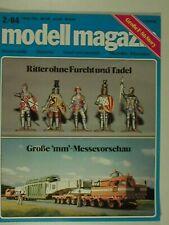 modell magazin Ausgabe 2/84