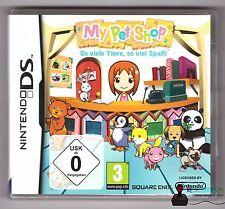 Nintendo DS Jeu-My Pet Shop-autant d'animaux autant amusée-complètement dans neuf dans sa boîte