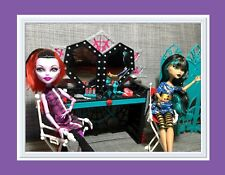 Monster High FRIGHTS CAMERA ACTION Dressing Room Playset Cleo de Nile & Operetta