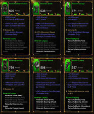 Diablo 3 RoS PS4 [SOFTCORE] - Roland's Legacy Crusader Set [Ancient]