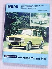 Austin MINI Incl.Cooper S 1959-1978   Intereurope Workshop Manual
