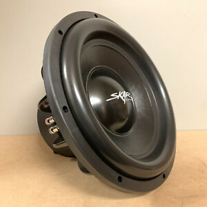 "USED SKAR AUDIO EVL-15 D2 15"" 2500 WATT MAX DUAL 2 OHM CAR SUBWOOFER"
