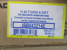 ISB043214E Philips Electronic Ballast, 4 Max. Lamps, 110 Max. Lamp BRAND NEW!