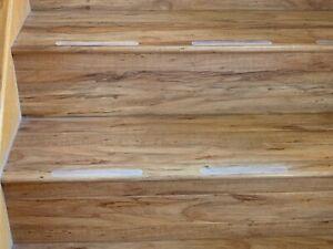 Non Slip Proof Sticker Stairs Bathroom Shower Strips Flooring Safety Tape 10pcs