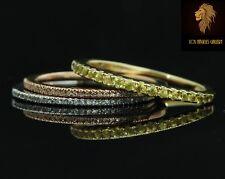 NEW / Levian stacking Rings / Yellow Sapphire & Vanilla Diamond / 14K gold