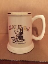 """""""The Schlitz Belle"""" Memphis, Tennessee.  River Boat Beer Stein with Gold Trim"""