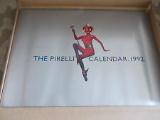 "PIRELLI CALENDAR1992 BOXED. ""THE YEAR OF THE MONKEY""ARROWSMITH ALISON FITZPATRIC"
