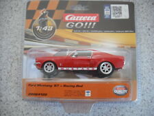 CARRERA GO 1:43 ELECTRIC SLOT CAR FORD MUSTANG 1967 RACING RED