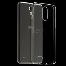 9H+ Tempered Glass Screen Protector Soft Case for LG Stylo 3 LTE L84VL CellPhone