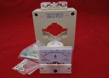 AC 0-1000A Analog Ammeter Panel AMP Current Meter 85L1 AC with transformer