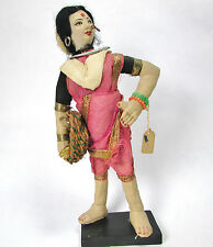 Vintage Collectible Beautiful Indian Doll in Traditional Clothes Made in India