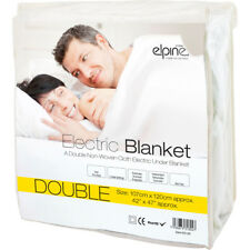 Double Washable Electric Heated Under Blanket 107 X 120cm