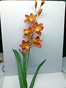 Silk Orchid Stems For Sale In Stock Ebay