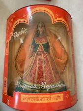 Expressiong Of India Roopvati Rajasthani Barbie Doll New