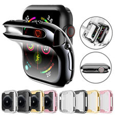For Apple Watch 5 4  Case TPU Bumper Full Cover Screen Protector iWatch 40/44mm