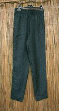 COMPTOIR DES COTONNIERS pantalon imprimé panthère vert/noir en soie T34, neuf