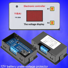 12V 20A Battery Low Voltage Cut off Switch On Undervoltage Protector Controller