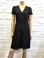 Gerard Darel Beautifully Simple & Elegant Wool Blend Pleated Day Dress